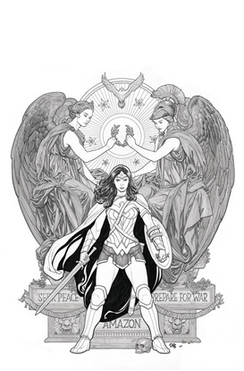 Picture of DC POSTER PORTFOLIO FRANK CHO TPB