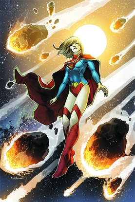 Picture of SUPERGIRL TPB VOL 1 THE GIRL OF STEEL