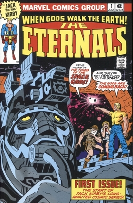 Picture of ETERNALS BY KIRBY COMPLETE COLLECTION TP CLASSIC DM VAR