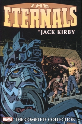Picture of ETERNALS BY KIRBY COMPLETE COLLECTION TP REMASTER CVR