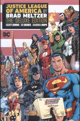 Picture of JUSTICE LEAGUE OF AMERICA BY BRAD MELTZER DLX ED HC