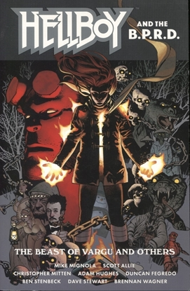 Picture of HELLBOY AND THE BPRD BEAST OF VARGU & OTHERS TPB