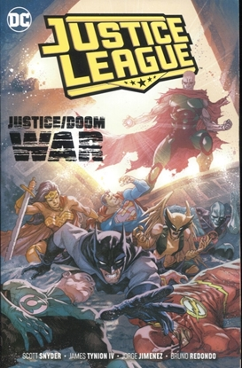 Picture of JUSTICE LEAGUE TPB VOL 5 JUSTICE DOOM WAR