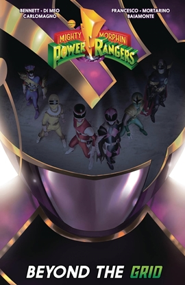 Picture of MIGHTY MORPHIN POWER RANGERS BEYOND GRID TPB