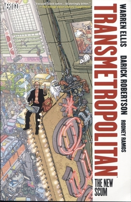 Picture of TRANSMETROPOLITAN TP VOL 04 THE NEW SCUM (