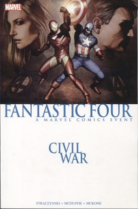 Picture of CIVIL WAR FANTASTIC FOUR TPB NEW PTG