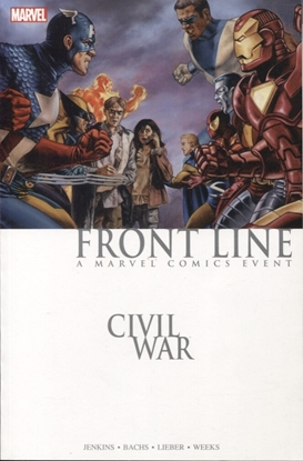 Picture of CIVIL WAR FRONT LINE TPB