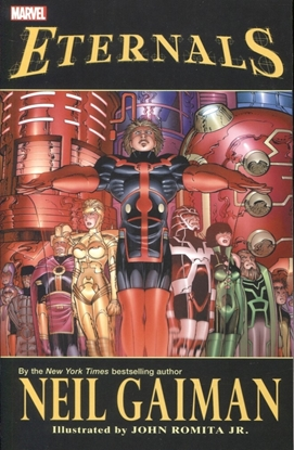 Picture of ETERNALS BY NEIL GAIMAN TPB NEW PRINTING