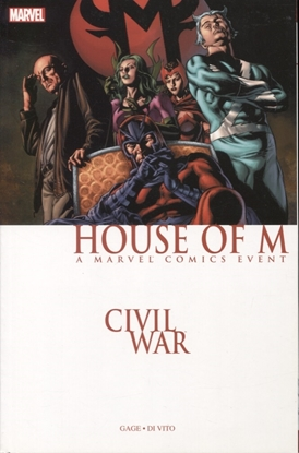 Picture of CIVIL WAR HOUSE OF M TP