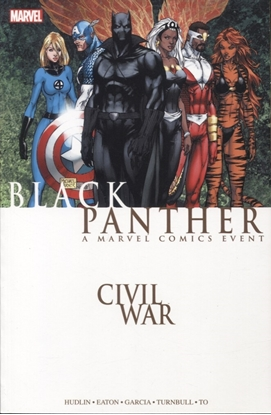 Picture of CIVIL WAR BLACK PANTHER TP NEW PTG