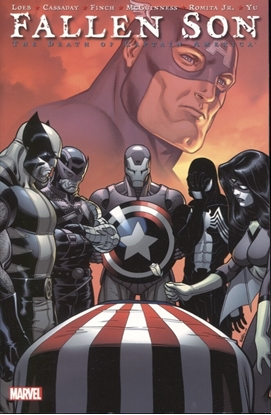 Picture of FALLEN SON DEATH OF CAPTAIN AMERICA TPB NEW PRINTING