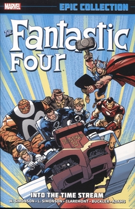 Picture of FANTASTIC FOUR EPIC COLLECTION TPB INTO TIMESTREAM