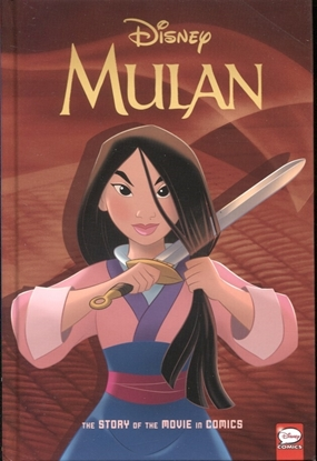 Picture of DISNEY MULAN STORY OF THE MOVIE IN COMICS HC (C: 1-1-2)