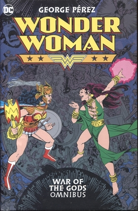 Picture of WONDER WOMAN WAR OF THE GODS OMNIBUS HC