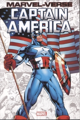 Picture of MARVEL-VERSE GN TP CAPTAIN AMERICA