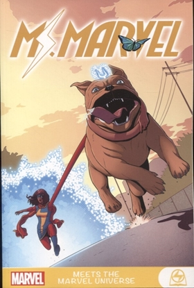 Picture of MS MARVEL MEETS MARVEL UNIVERSE GN TP