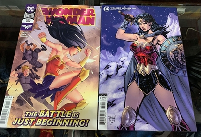 Picture of WONDER WOMAN #759 CVR A & B 2 COVER SET NM