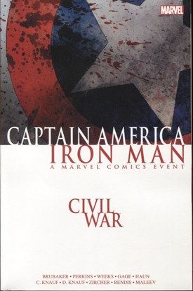 Picture of CIVIL WAR CAPTAIN AMERICA IRON MAN TPB