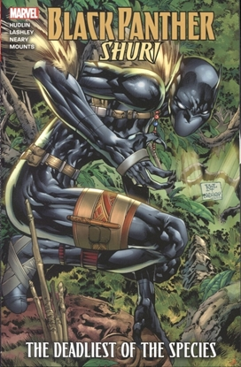 Picture of BLACK PANTHER SHURI DEADLIEST OF SPECIES TP NEW PTG