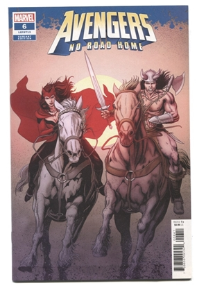 Picture of AVENGERS NO ROAD HOME #6 1:50 VARIANT NM