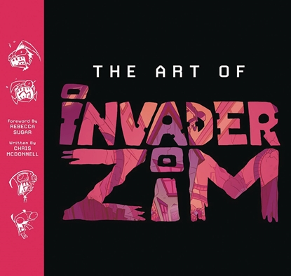 Picture of ART OF INVADER ZIM HC