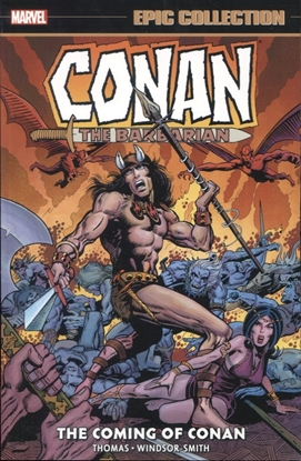 Picture of CONAN BARBARIAN ORIG MARVEL YRS EPIC COLL TP COMING OF CONAN