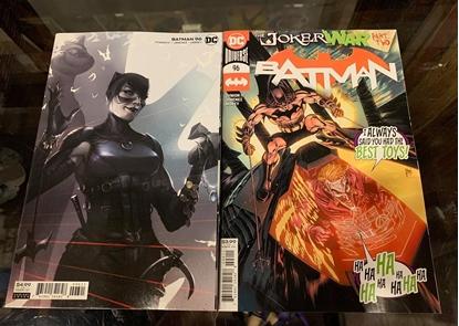 Picture of BATMAN #96 CVR A & B 2 COVER SET  (JOKER WAR) NM