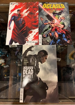 Picture of DCEASED DEAD PLANET #2  CVR A B C 3 COVER SET NM