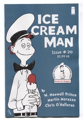 Picture of ICE CREAM MAN #20 CVR B MORAZZO & OHALLORAN VF/NM