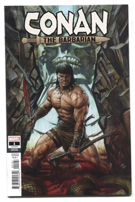 Picture of CONAN THE BARBARIAN #1 1:50 ADI GRANOVI VARIANT COVER NM
