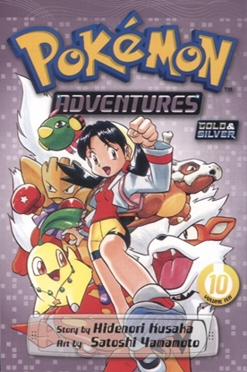 Picture of POKEMON ADVENTURES GN VOL 10 GOLD SILVER