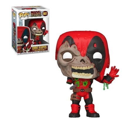 Picture of FUNKO POP MARVEL ZOMBIES DEADPOOL #661 NEW VINYL FIGURES