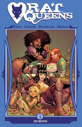 Picture of RAT QUEENS TPB VOL 3 DEMONS