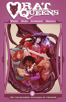 Picture of RAT QUEENS TPB VOL 2 FAR REACHING TENTACLES OF NRYGOTH