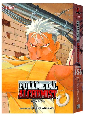 Picture of FULLMETAL ALCHEMIST 3IN1 TP VOL 2