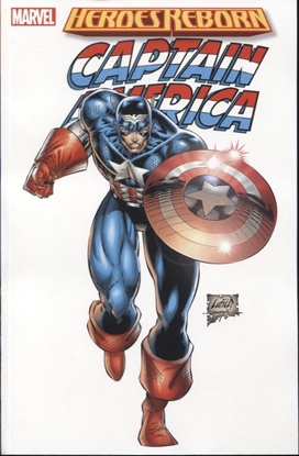 Picture of HEROES REBORN TPB CAPTAIN AMERICA NEW PRINT