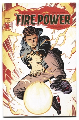 Picture of FIRE POWER BY KIRKMAN & SAMNEE #1 GOLD FOIL VARIANT FN/VF