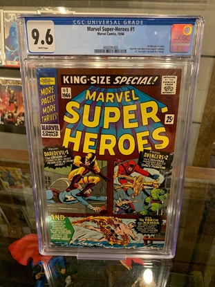 Picture of MARVEL SUPER-HEROES (1966) #1 CGC 9.6 NM+ WP