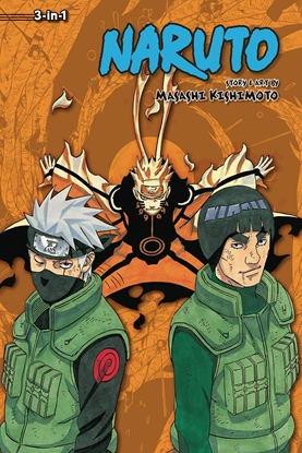 Picture of NARUTO 3IN1 TP VOL 21