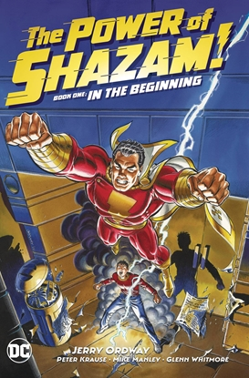 Picture of POWER OF SHAZAM BOOK 01 IN THE BEGINNING HC
