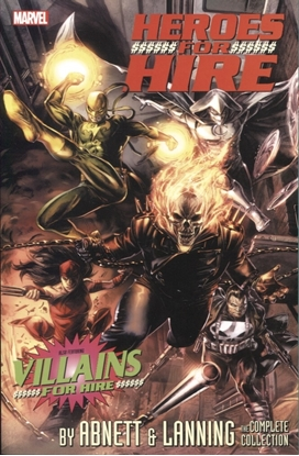 Picture of HEROES FOR HIRE ABNETT AND LANNING COMP COLL TP