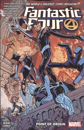 Picture of FANTASTIC FOUR TP VOL 05 POINT OF ORIGIN