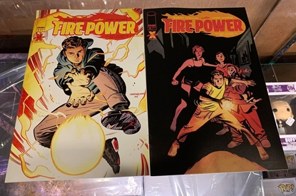Picture of FIRE POWER BY KIRKMAN & SAMNEE #1 & 2 1ST PRINT SET NM