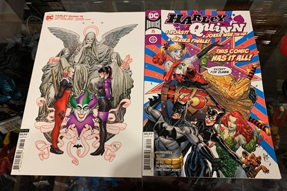 Picture of HARLEY QUINN #75 CVR A GUILLEM MARCH & COVER B FRANK CHO (JOKER WAR)