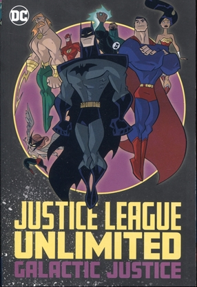 Picture of JUSTICE LEAGUE UNLIMITED GALACTIC JUSTICE TP
