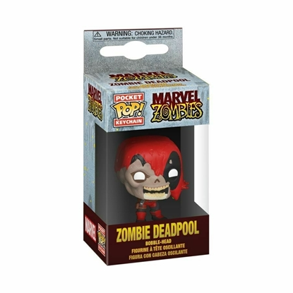 Picture of FUNKO POCKET POP KEYCHAIN MARVEL ZOMBIES DEADPOOL NEW