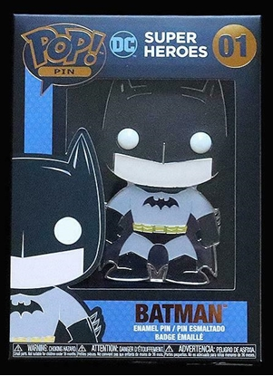 "Picture of FUNKO 4"" ENAMEL PIN DC SUPER HEROES- BATMAN NEW"