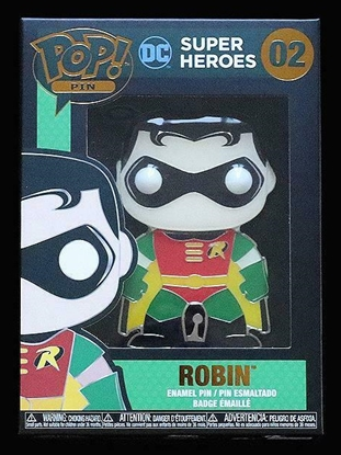 "Picture of FUNKO 4"" ENAMEL PIN DC SUPER HEROES- ROBIN NEW"