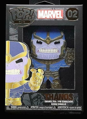 "Picture of FUNKO 4"" ENAMEL PIN MARVEL- THANOS NEW"
