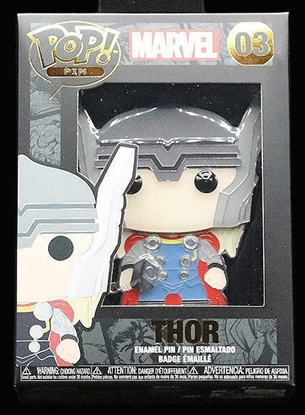 "Picture of FUNKO 4"" ENAMEL PIN MARVEL- THOR NEW"